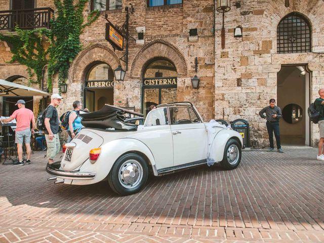 Il matrimonio di Federica e Andi a San Gimignano, Siena 32