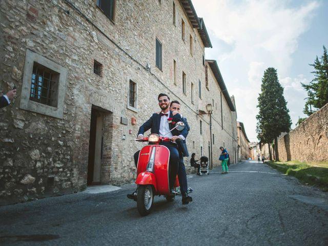 Il matrimonio di Federica e Andi a San Gimignano, Siena 33