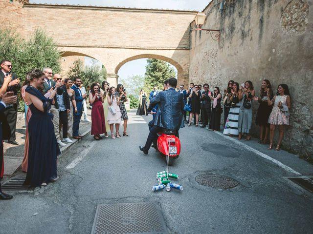 Il matrimonio di Federica e Andi a San Gimignano, Siena 34