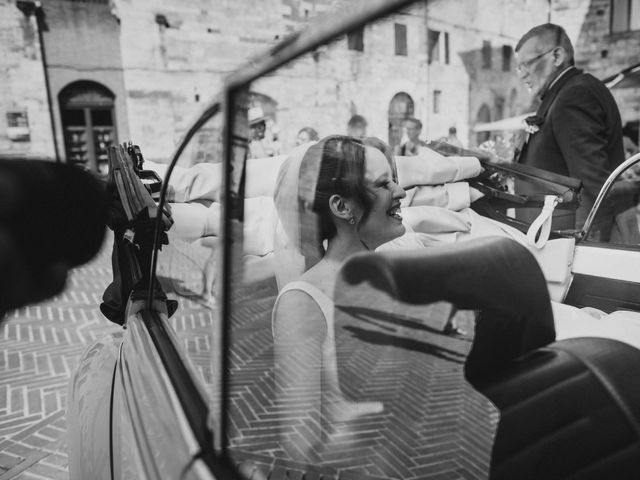 Il matrimonio di Federica e Andi a San Gimignano, Siena 36