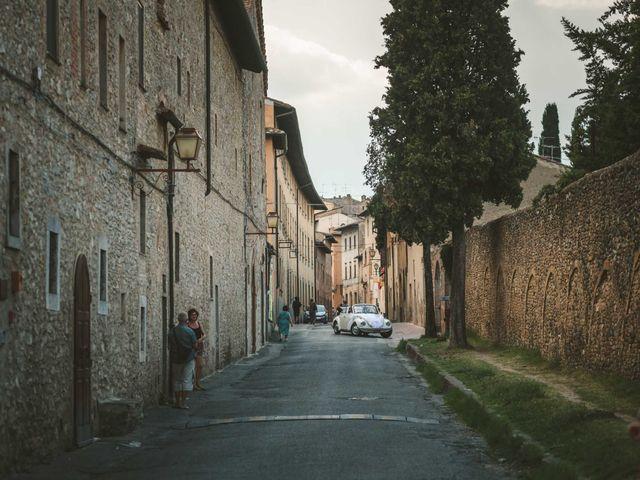 Il matrimonio di Federica e Andi a San Gimignano, Siena 39