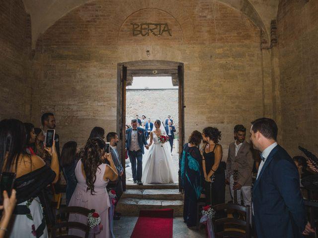 Il matrimonio di Federica e Andi a San Gimignano, Siena 41