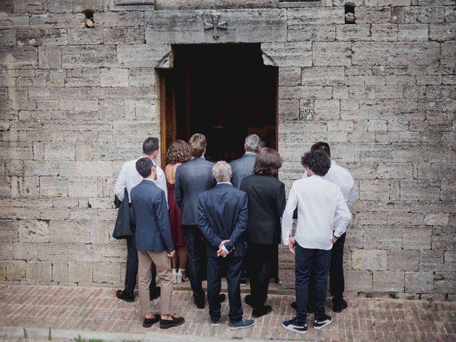 Il matrimonio di Federica e Andi a San Gimignano, Siena 43