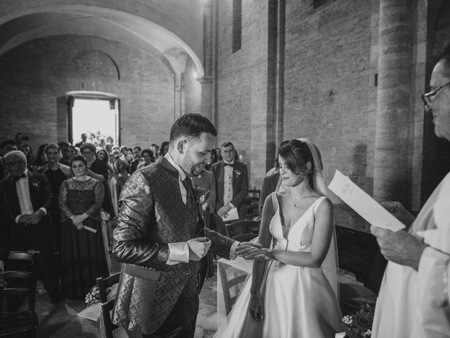 Il matrimonio di Federica e Andi a San Gimignano, Siena 44
