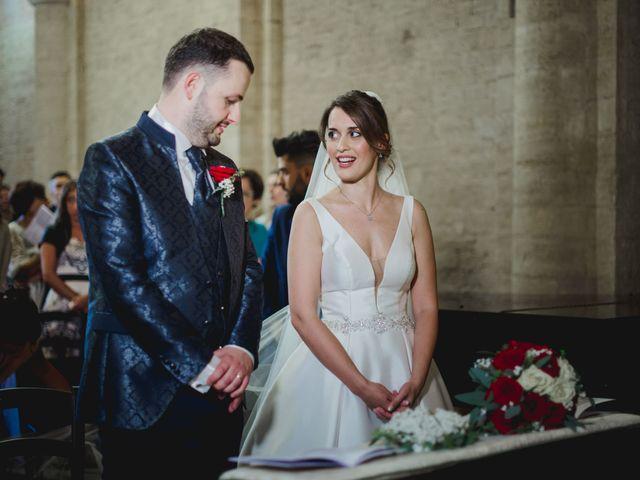 Il matrimonio di Federica e Andi a San Gimignano, Siena 46