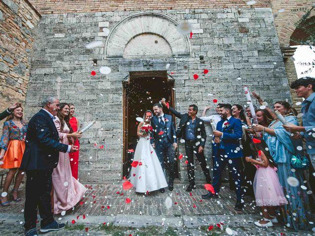 Il matrimonio di Federica e Andi a San Gimignano, Siena 48