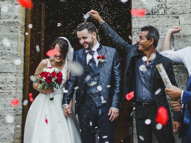 Il matrimonio di Federica e Andi a San Gimignano, Siena 49