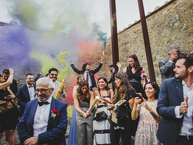 Il matrimonio di Federica e Andi a San Gimignano, Siena 50