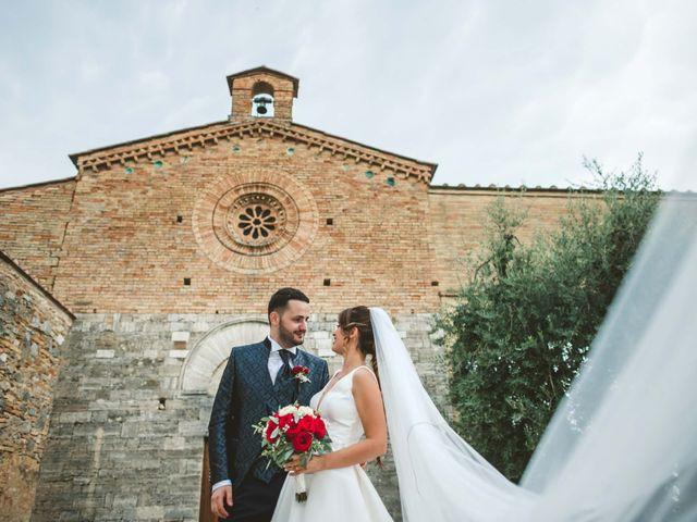 Il matrimonio di Federica e Andi a San Gimignano, Siena 51