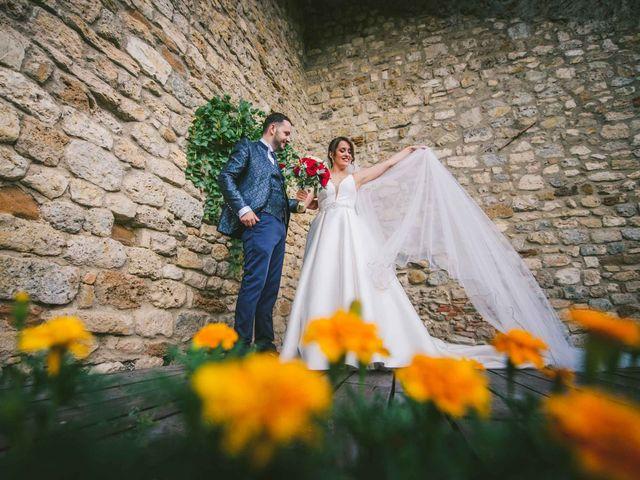 Il matrimonio di Federica e Andi a San Gimignano, Siena 52