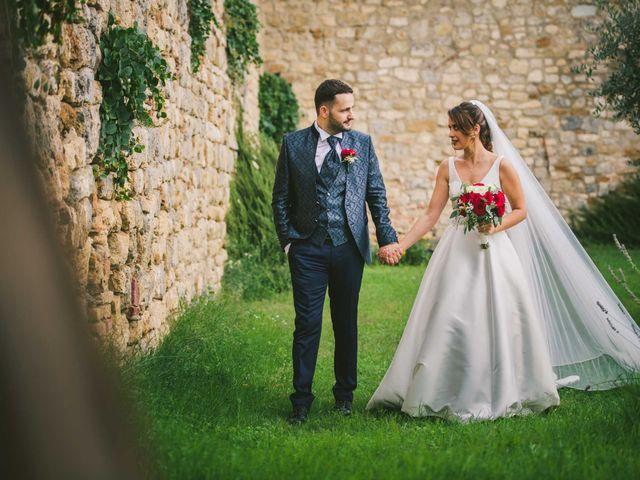 Il matrimonio di Federica e Andi a San Gimignano, Siena 53
