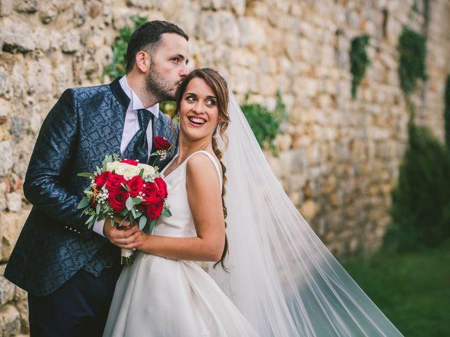 Il matrimonio di Federica e Andi a San Gimignano, Siena 54