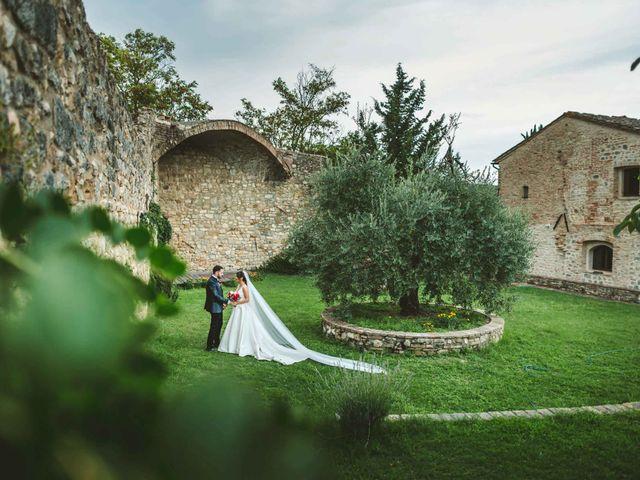 Il matrimonio di Federica e Andi a San Gimignano, Siena 1