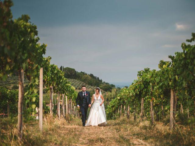 Il matrimonio di Federica e Andi a San Gimignano, Siena 58