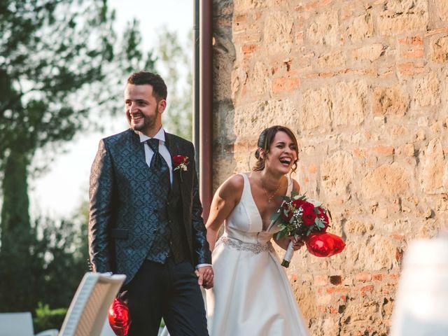Il matrimonio di Federica e Andi a San Gimignano, Siena 62
