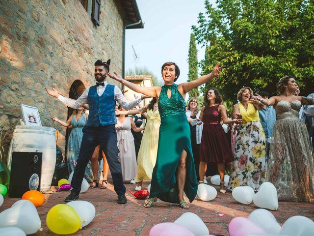 Il matrimonio di Federica e Andi a San Gimignano, Siena 63