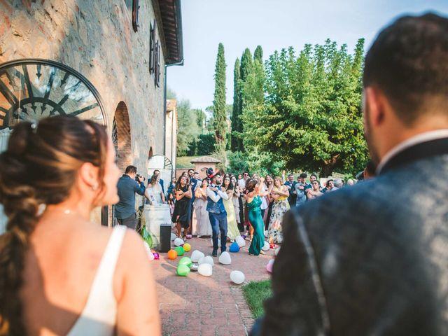 Il matrimonio di Federica e Andi a San Gimignano, Siena 64