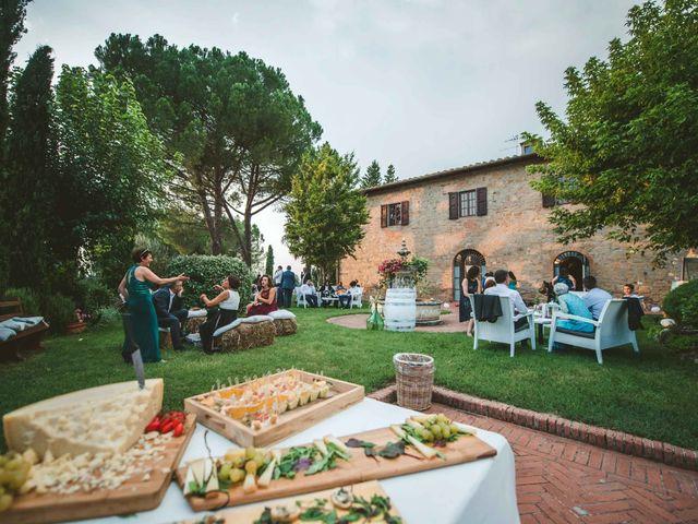 Il matrimonio di Federica e Andi a San Gimignano, Siena 66