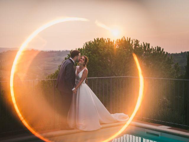 Il matrimonio di Federica e Andi a San Gimignano, Siena 68