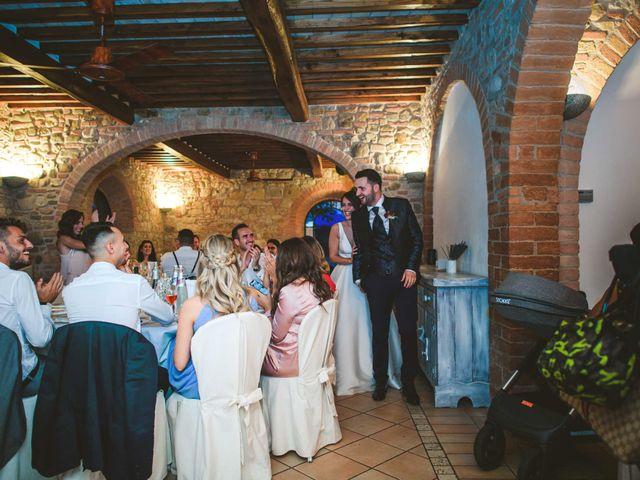 Il matrimonio di Federica e Andi a San Gimignano, Siena 69