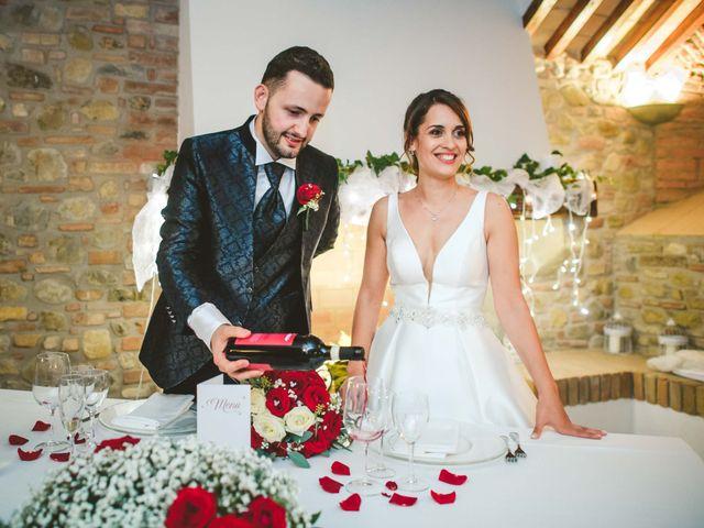 Il matrimonio di Federica e Andi a San Gimignano, Siena 70