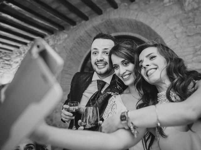 Il matrimonio di Federica e Andi a San Gimignano, Siena 71
