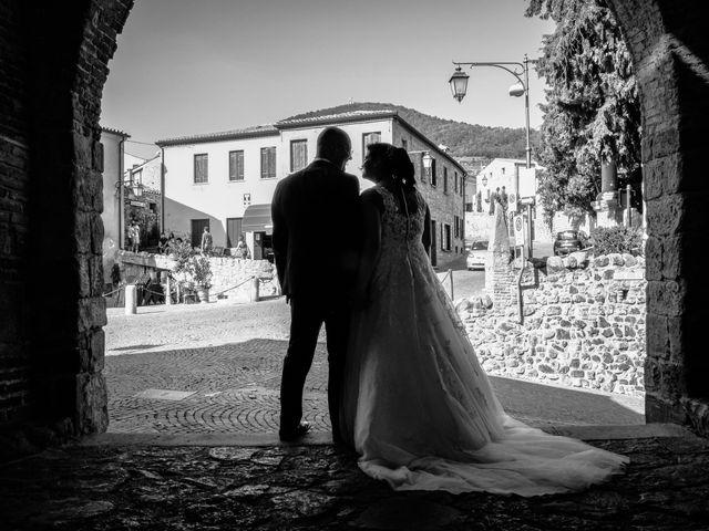 Il matrimonio di Alberto e Sara a Arquà Petrarca, Padova 1
