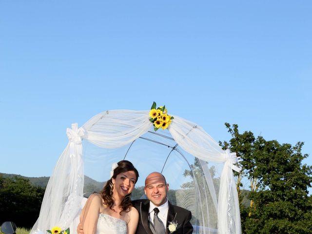 Il matrimonio di Stefano e Sandra a Castiglion Fiorentino, Arezzo 34