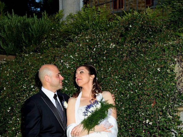 Il matrimonio di Stefano e Sandra a Castiglion Fiorentino, Arezzo 37