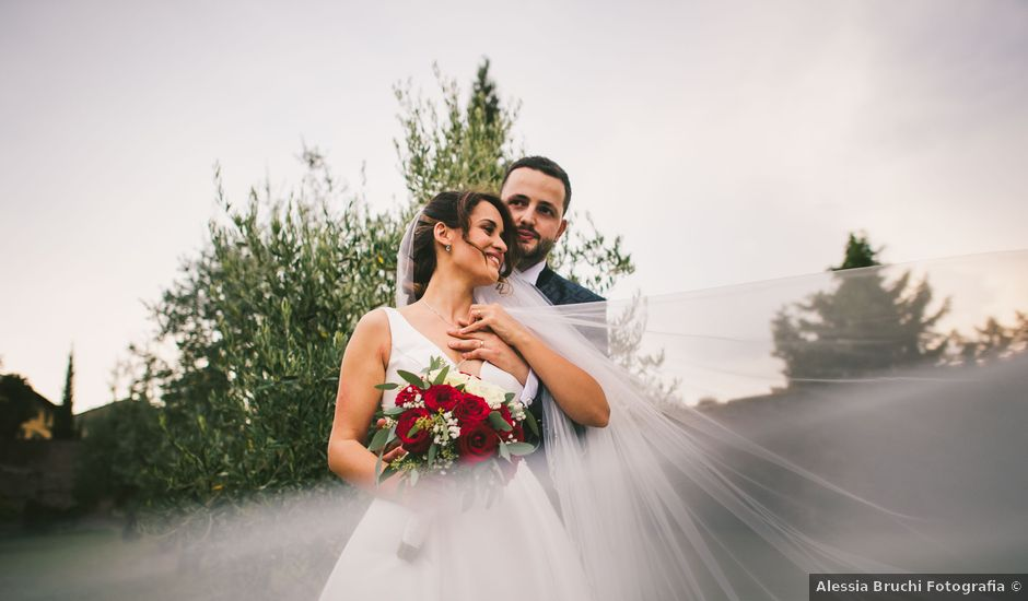 Il matrimonio di Federica e Andi a San Gimignano, Siena