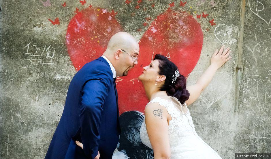 Il matrimonio di Alberto e Sara a Arquà Petrarca, Padova