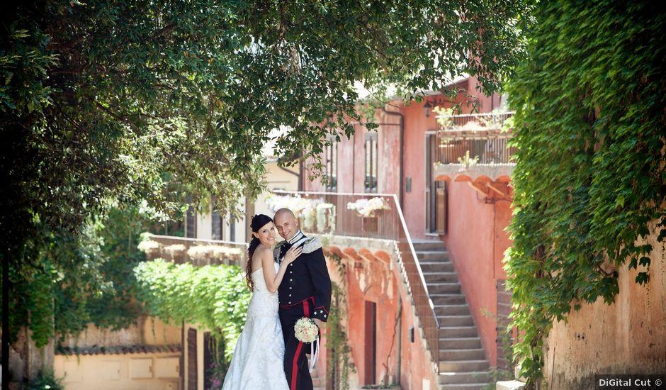 Il matrimonio di Daniele e Vania a Priverno, Latina