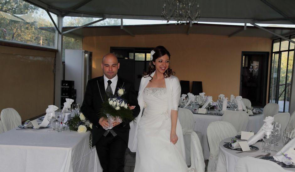 Il matrimonio di Stefano e Sandra a Castiglion Fiorentino, Arezzo