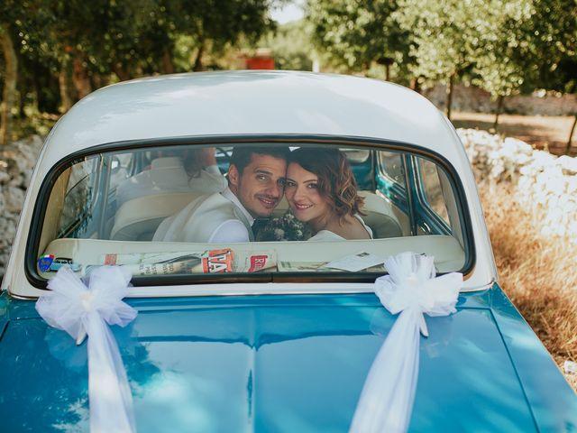 Il matrimonio di Antonio e Giusi a Specchia, Lecce 119