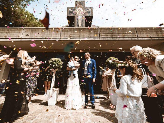 Il matrimonio di Gabriele e Elena a Campiglia Marittima, Livorno 1