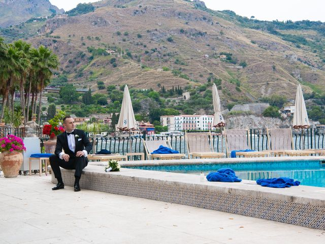 Il matrimonio di Alessio e Erika a Taormina, Messina 19