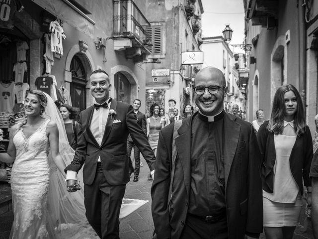 Il matrimonio di Alessio e Erika a Taormina, Messina 42