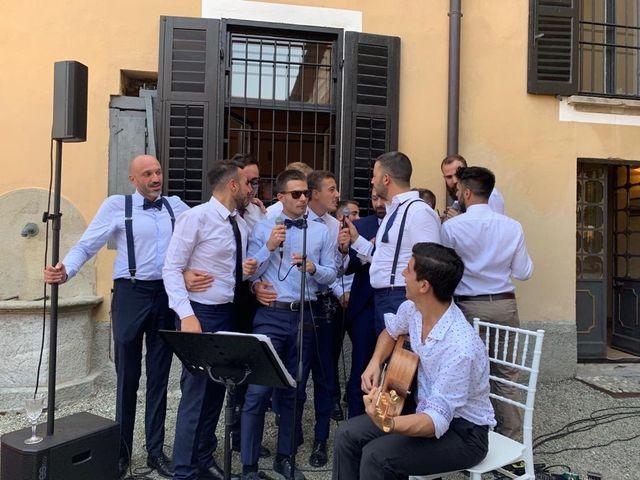 Il matrimonio di Carlo Maria  e Elisa a Cardano al Campo, Varese 3