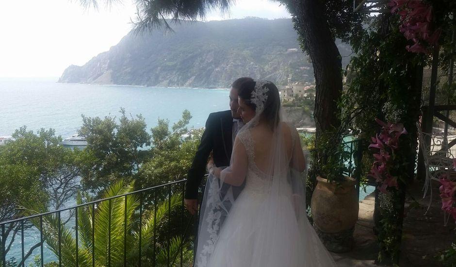 Il matrimonio di davide e fabiana a Monterosso al Mare, La Spezia