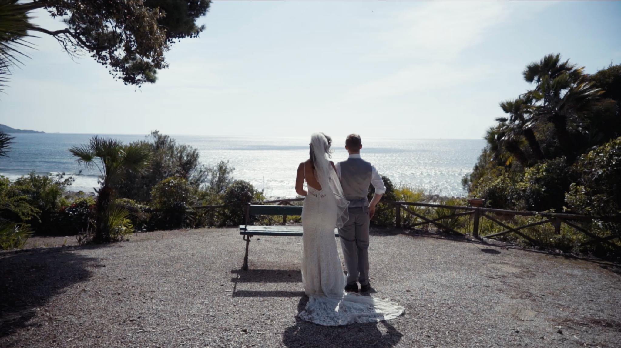 Il matrimonio di George e Melanie a Castellabate, Salerno