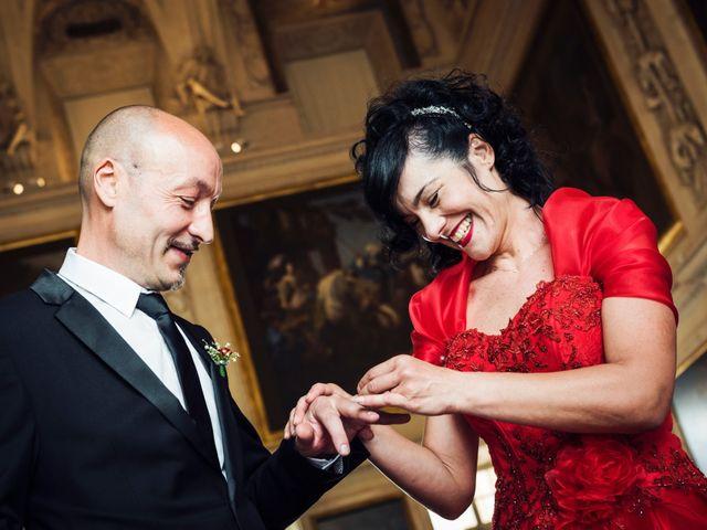 Il matrimonio di Cosimo e Giuseppina a Venaria Reale, Torino 16