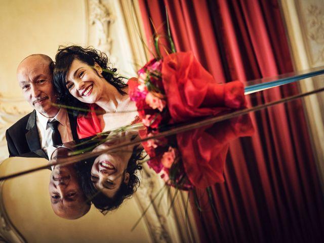 Il matrimonio di Cosimo e Giuseppina a Venaria Reale, Torino 1