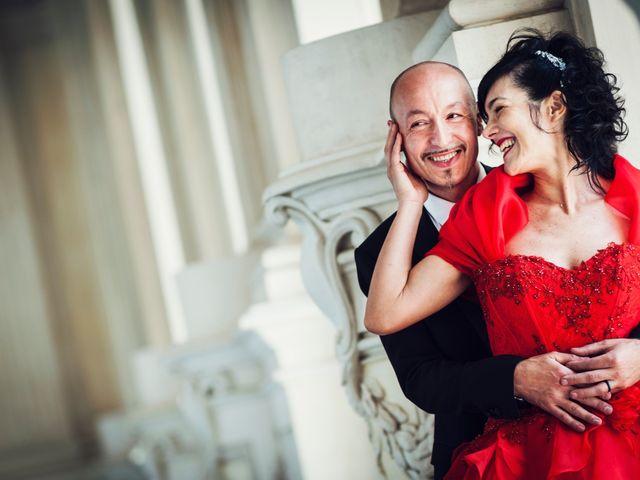 Il matrimonio di Cosimo e Giuseppina a Venaria Reale, Torino 2