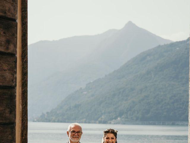 Il matrimonio di Fabrizio e Valeria a Maccagno, Varese 32