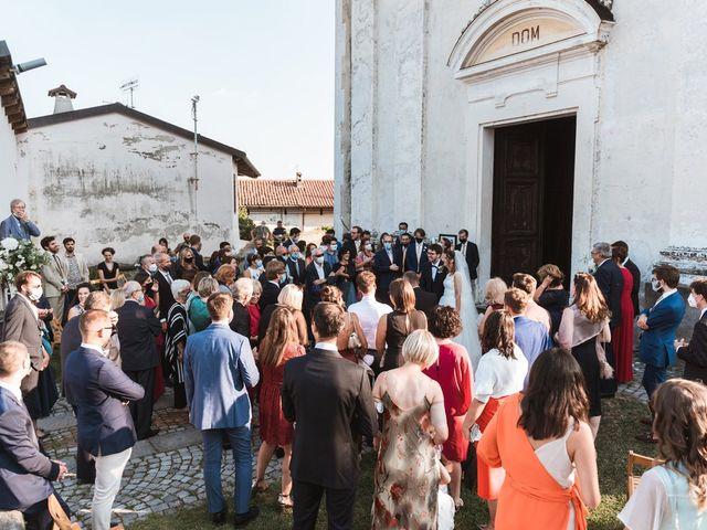 Il matrimonio di Carlo e Chiara a Pavone Canavese, Torino 37