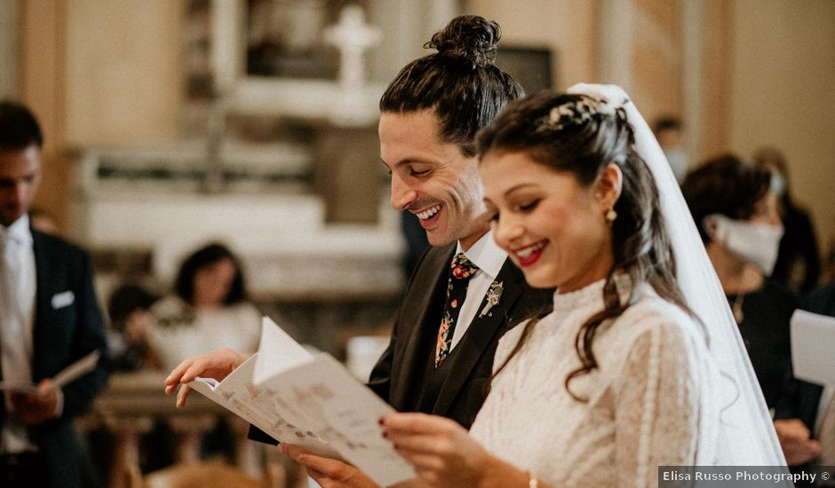 Il matrimonio di Fabrizio e Valeria a Maccagno, Varese