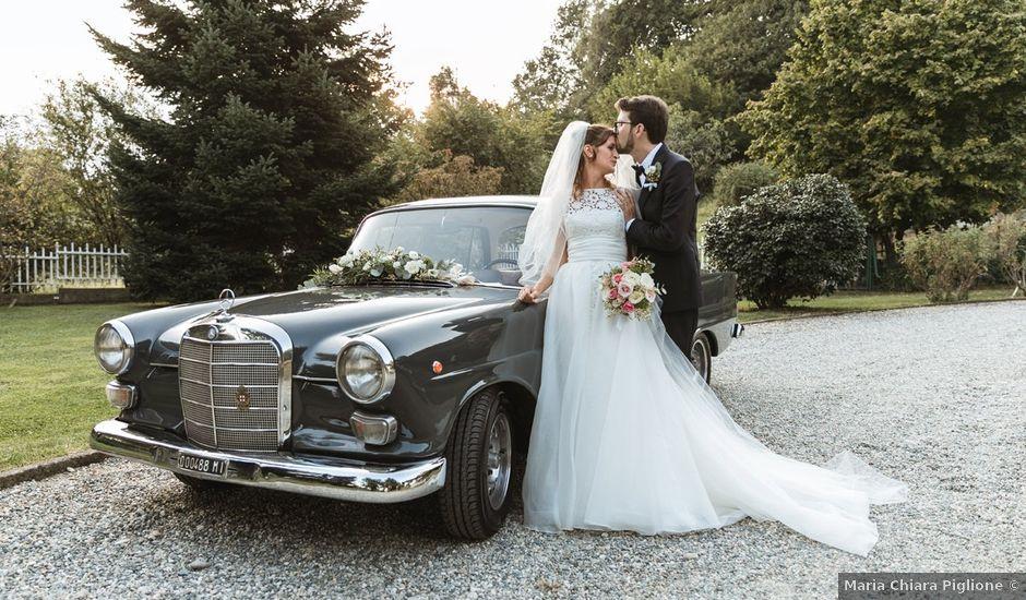 Il matrimonio di Carlo e Chiara a Pavone Canavese, Torino
