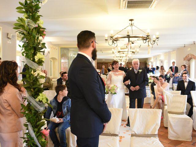 Il matrimonio di Fabio e Francesca a Robecco sul Naviglio, Milano 20
