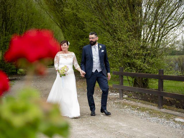 Il matrimonio di Fabio e Francesca a Robecco sul Naviglio, Milano 32