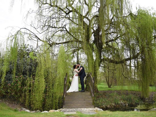 Il matrimonio di Fabio e Francesca a Robecco sul Naviglio, Milano 30